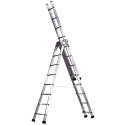 Escalera Aluminio 3 Tramos...